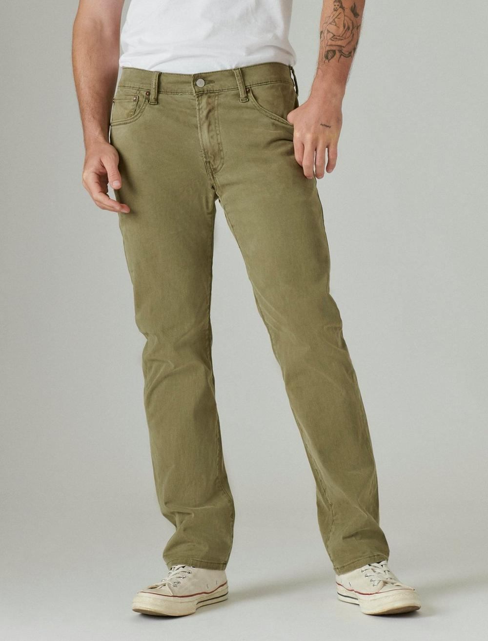 410 ATHLETIC STRAIGHT SATEEN STRETCH JEAN, image 4