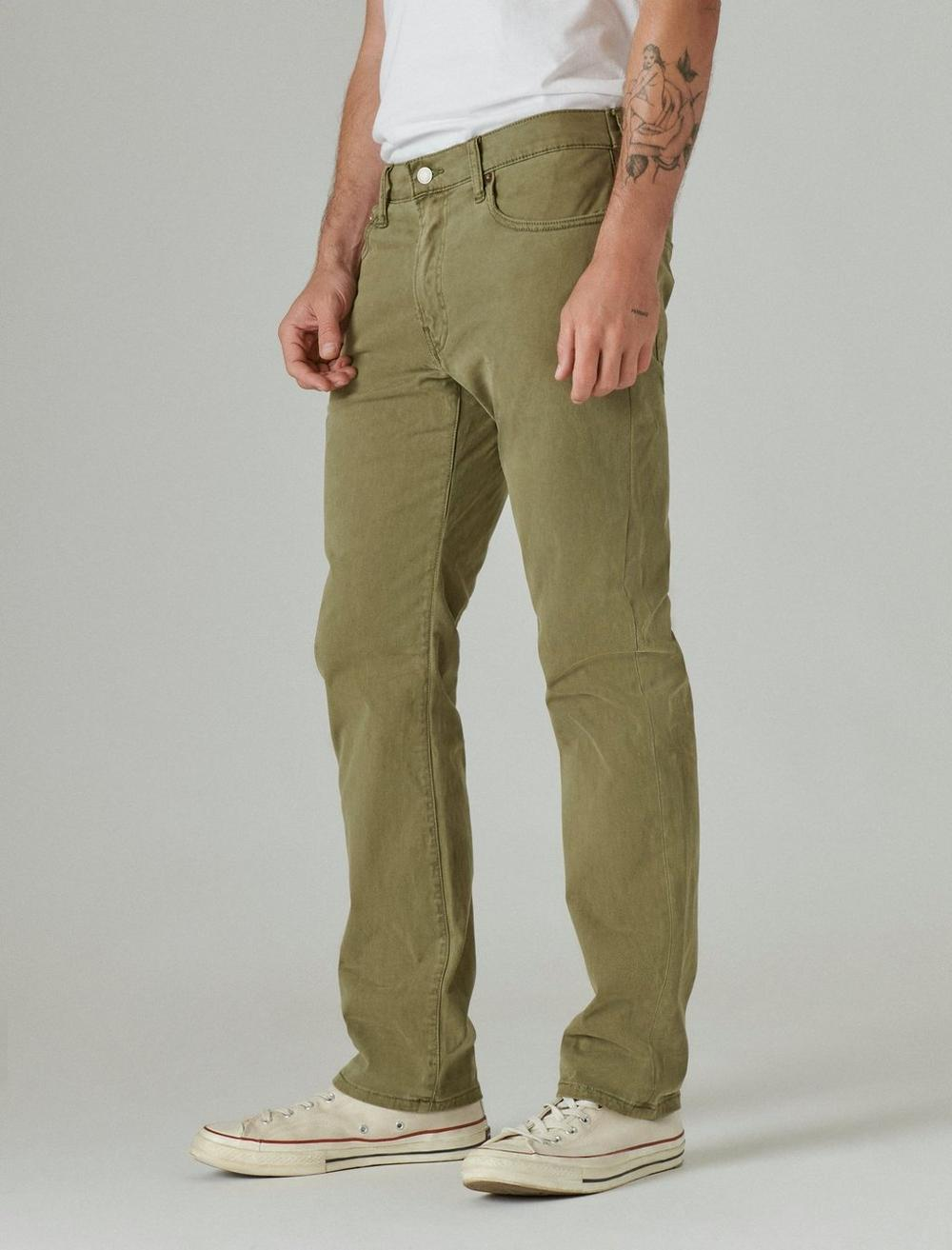 410 ATHLETIC STRAIGHT SATEEN STRETCH JEAN, image 5