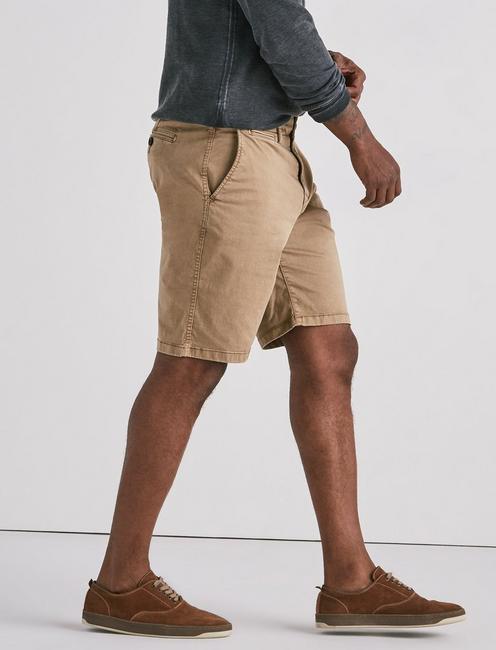 Stretch Sateen Flat Front Short,