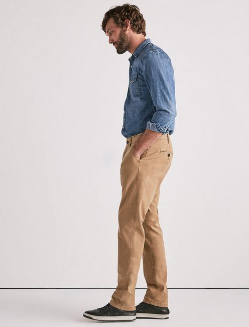 410 Stretch Sateen Chino, PALE ALE