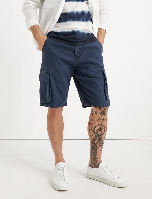 Saturday Stretch Cargo Short, BLACK IRIS