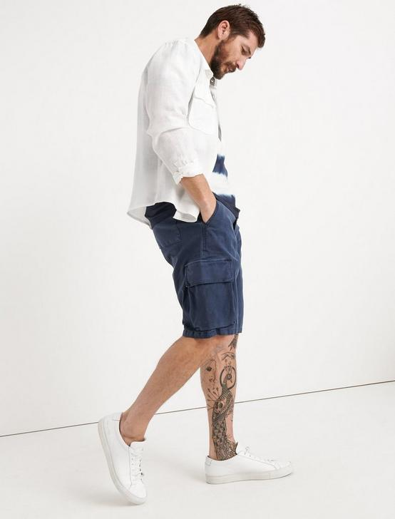 Saturday Stretch Cargo Short, BLACK IRIS, productTileDesktop