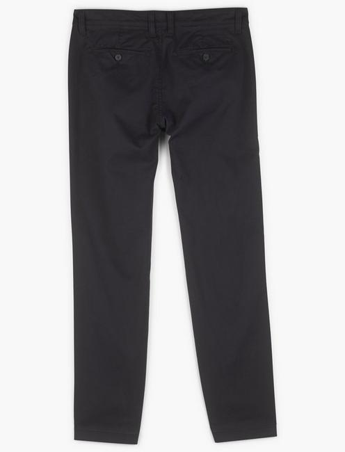 410 COOLMAX STRETCH CHINO PANT, BLACK ONYX