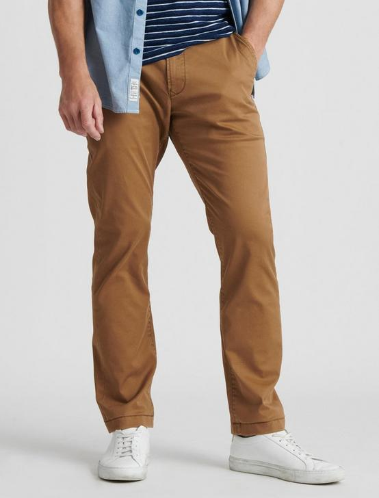 410 ATHLETIC SLIM COOLMAX ALL SEASON TECHNOLOGY CHINO, BUZZARD BROWN, productTileDesktop