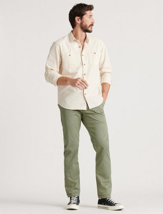 410 Athletic Slim COOLMAX STRETCH CHINO, DEEP LICHEN GREEN, productTileDesktop
