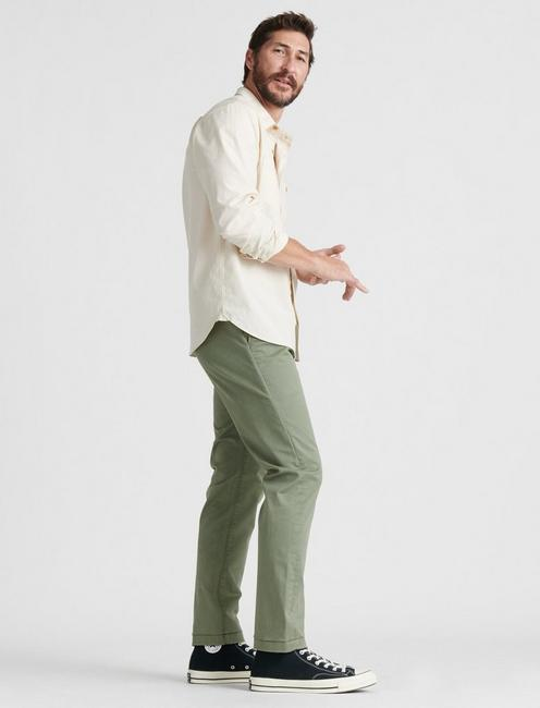 410 ATHLETIC SLIM COOLMAX ALL SEASON TECHNOLOGY CHINO, DEEP LICHEN GREEN