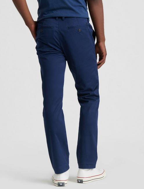 410 COOLMAX STRETCH CHINO PANT, BLACK IRIS