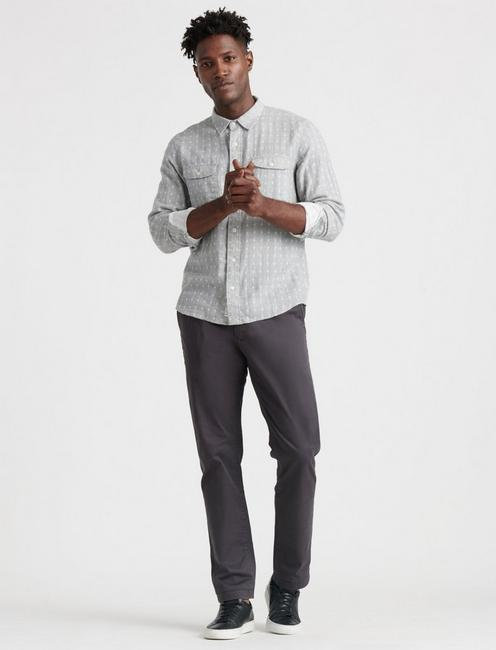 410 ATHLETIC SLIM COOLMAX CHINO, PHANTOM