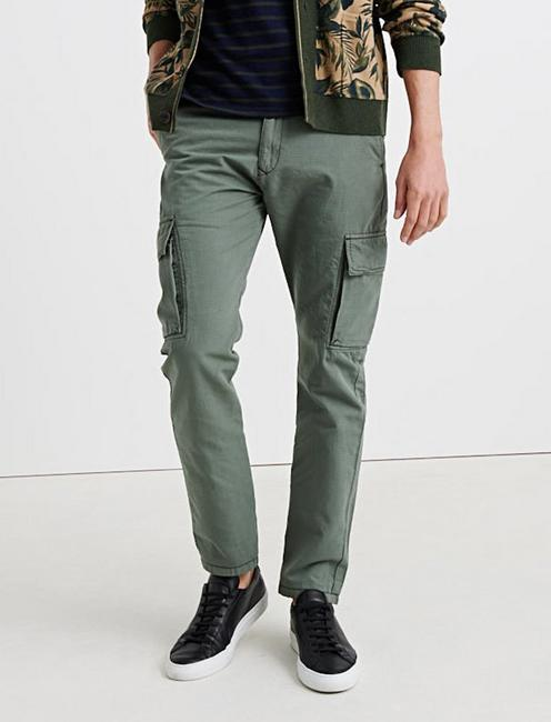 RIPSTOP CARGO PANT, BURNT OLIVE