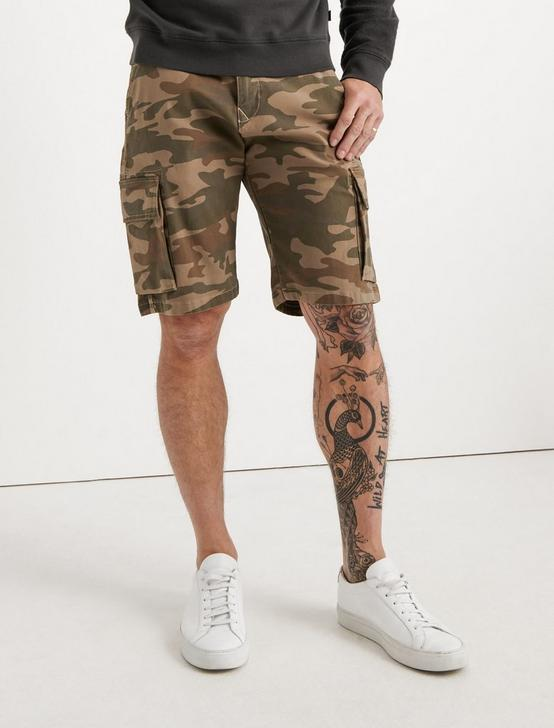 Saturday Stretch Cargo Short, CAMO COMBO MULTI, productTileDesktop