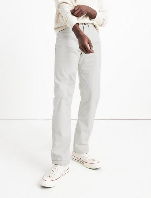 121 SLIM COOLMAX STRETCH CHINO PANT, MOONSTRUCK