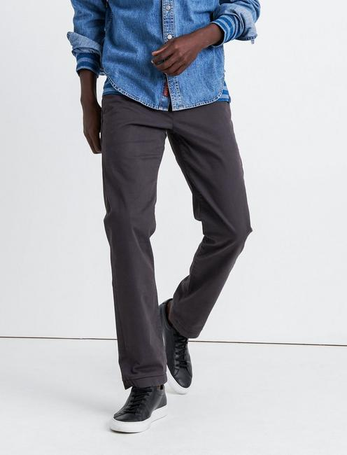 121 SLIM COOLMAX STRETCH CHINO PANT, PHANTOM
