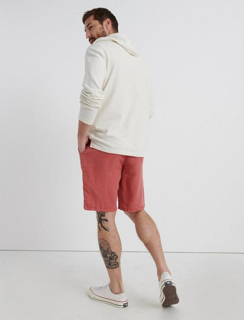 LAGUNA LINEN SHORT, MINERAL RED