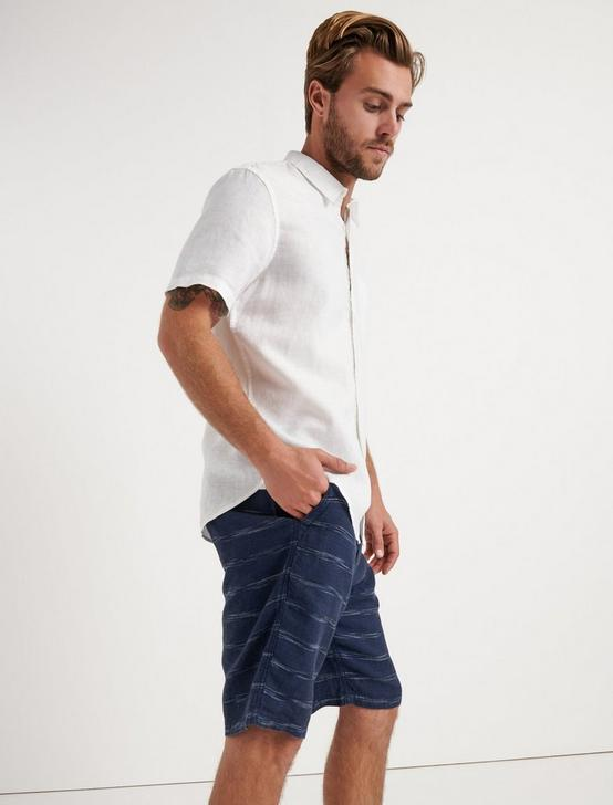 Laguna Linen Striped Short