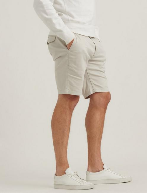 SATURDAY STRETCH FLAT FRONT SHORT, MOONSTRUCK