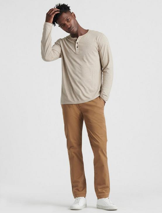 110 COOLMAX CHINO PANT, BUZZARD BROWN, productTileDesktop
