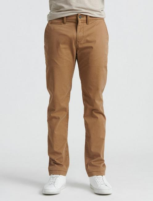 110 COOLMAX CHINO PANT, BUZZARD BROWN