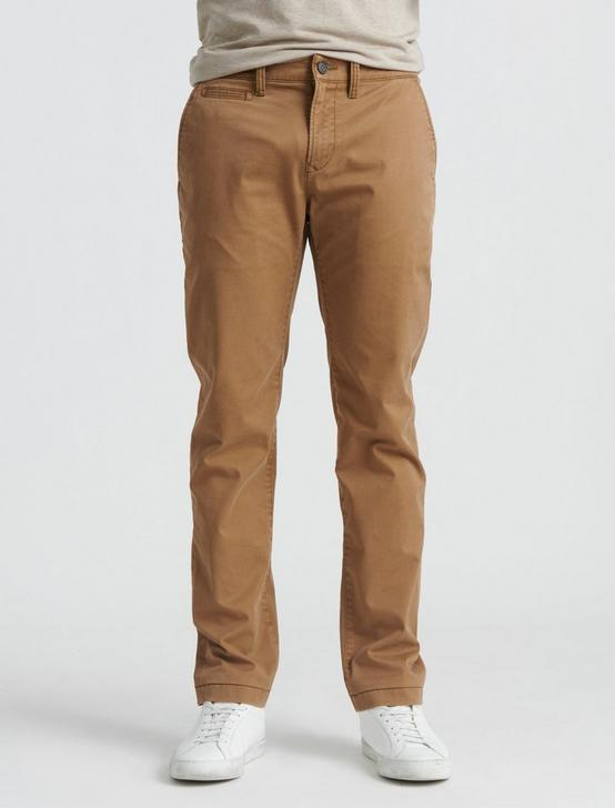 110 COOLMAX CHINO, BUZZARD BROWN, productTileDesktop