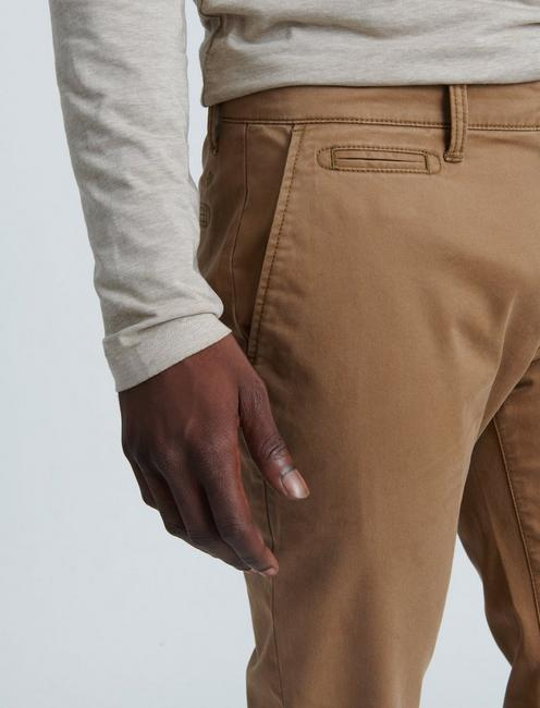 110 COOLMAX STRETCH CHINO PANT, BUZZARD BROWN