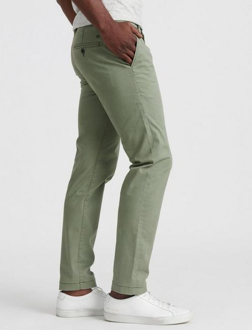 110 COOLMAX STRETCH CHINO PANT, DEEP LICHEN GREEN