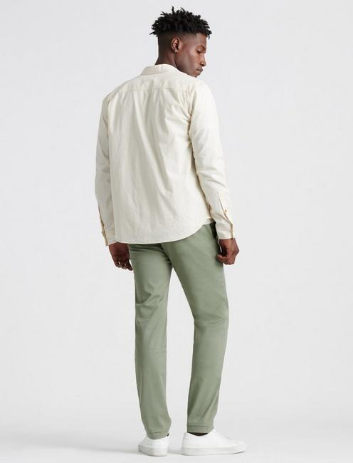 110 COOLMAX CHINO PANT, DEEP LICHEN GREEN