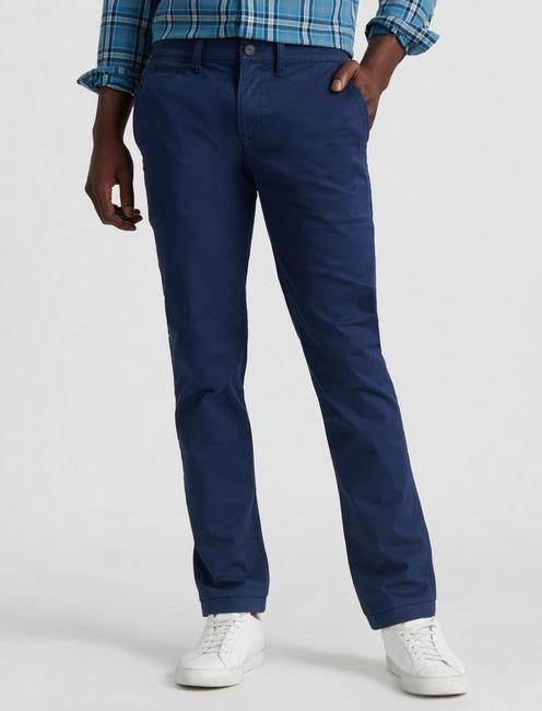 110 COOLMAX CHINO PANT, BLACK IRIS