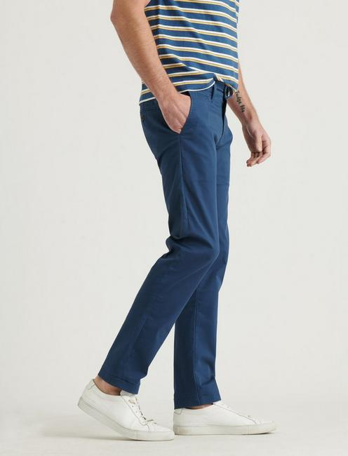 110 COOLMAX STRETCH CHINO PANT, CLANCY BLUE