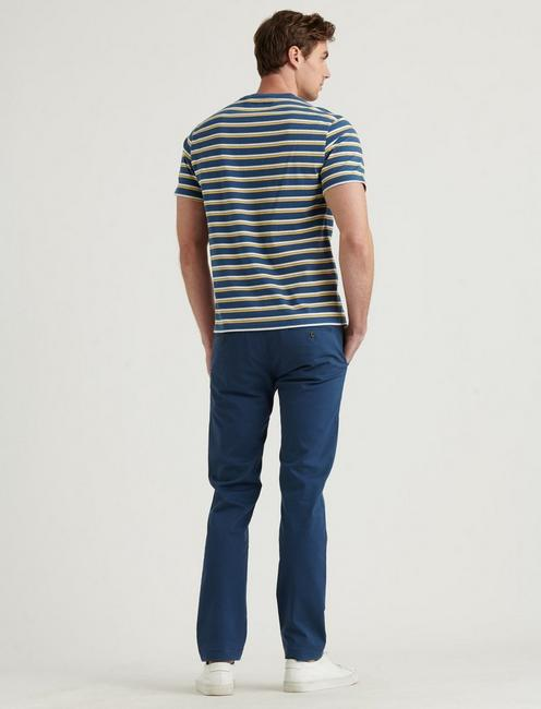 110 COOLMAX CHINO PANT, CLANCY BLUE