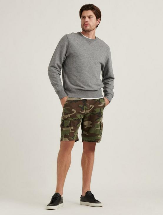SATURDAY STRETCH CARGO SHORT, CAMO (ARMY COLORS), productTileDesktop