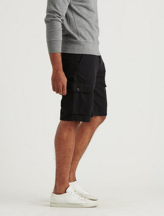 SATURDAY STRETCH LONG CARGO SHORT, BLACK ONYX, productTileDesktop