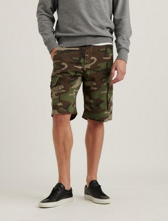 SATURDAY STRETCH LONG CARGO SHORT, CAMO (ARMY COLORS), productTileDesktop