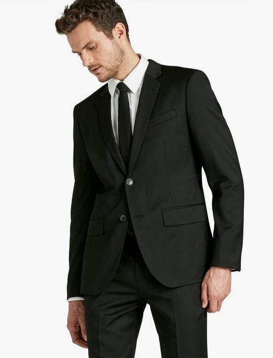 ACE OCCASION SUIT JACKET, BLACK, productTileDesktop
