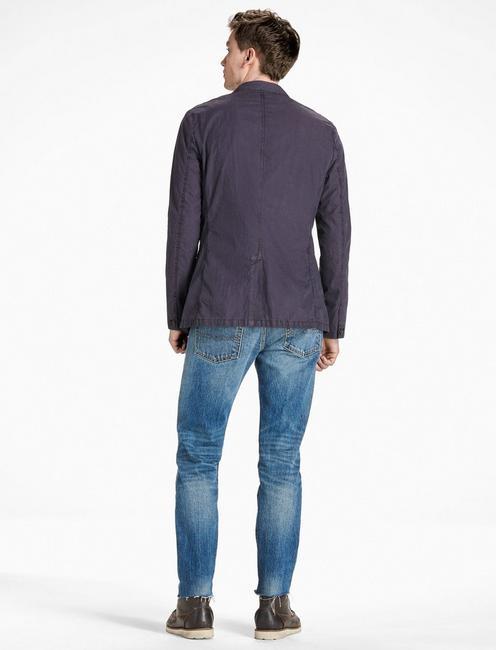 Ace Garment Dyed Blazer, BLACK