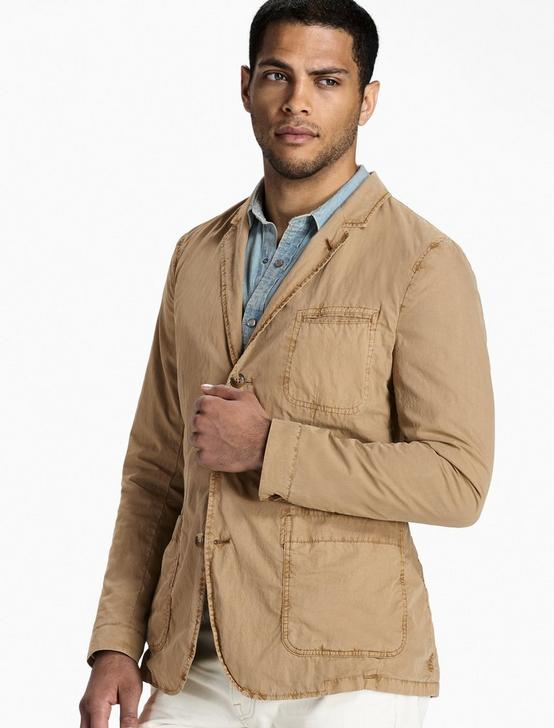 Ace Garment Dyed Blazer, TWILL #16-1108 TCX, productTileDesktop