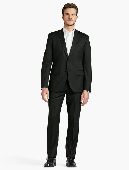 JACK OCCASION SUIT JACKET, BLACK