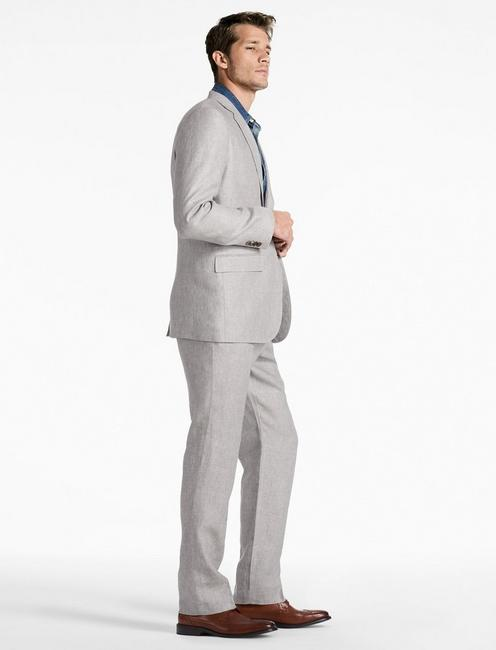 Jack Linen Suit Jacket, GREY