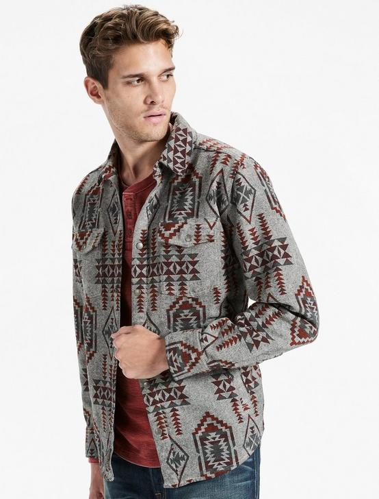BOULDER CREEK SHIRT JACKET, GREY MULTI, productTileDesktop