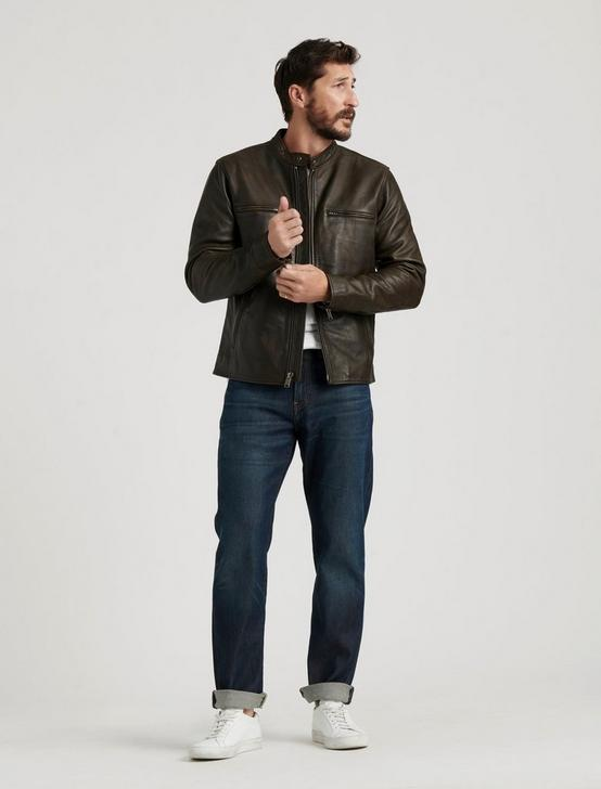 LEATHER BONNEVILLE JACKET, BLACK, productTileDesktop