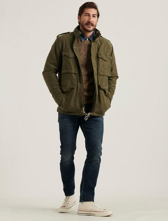 M65 FIELD JACKET WITH REMOVABLE SHERPA, BURNT OLIVE, productTileDesktop