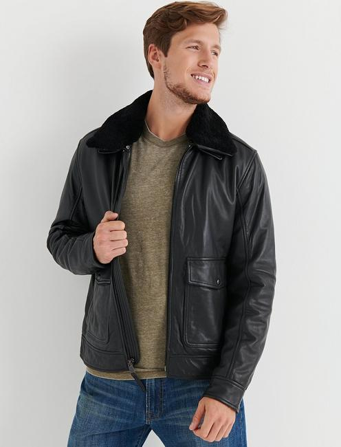 Lucky Shearling Leather Jacket