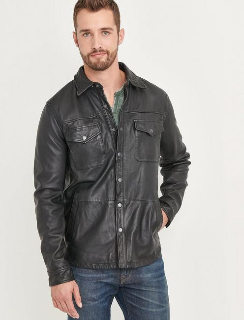 Lucky Featherweight Leather Jacket