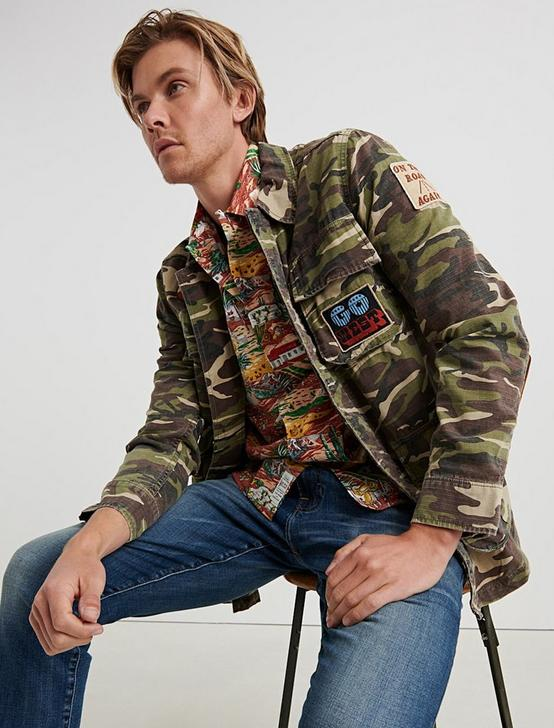 CAMO PATCHWORK SHIRT JACKET, CAMO COMBO MULTI, productTileDesktop