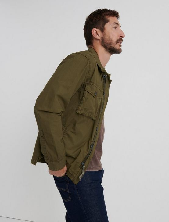 PLATOON JACKET, DARK OLIVE, productTileDesktop
