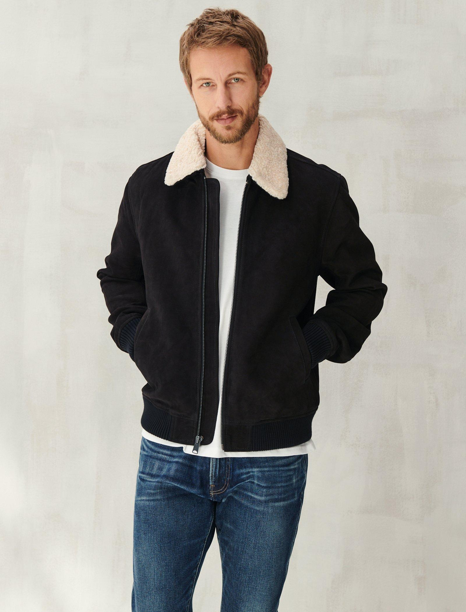 Lucky Brand Nubuck G-1 Men's Jacket
