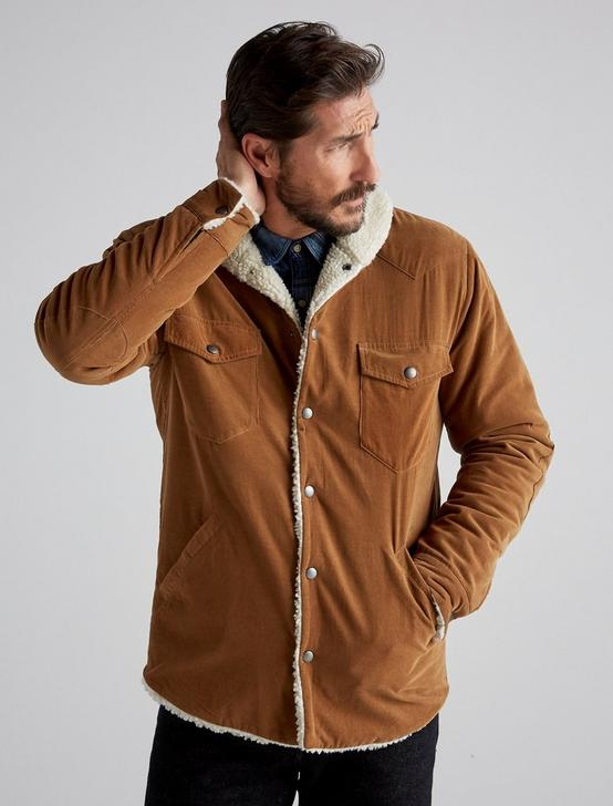 CORDUROY RANCH JACKET, TAN, productTileDesktop