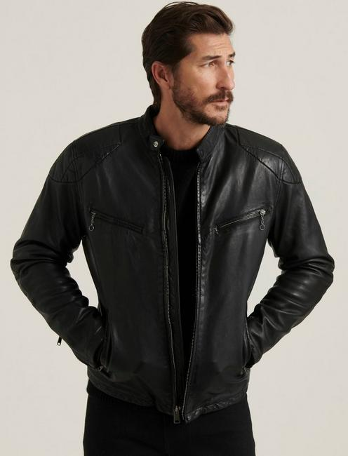 VINCENT LEATHER JACKET,