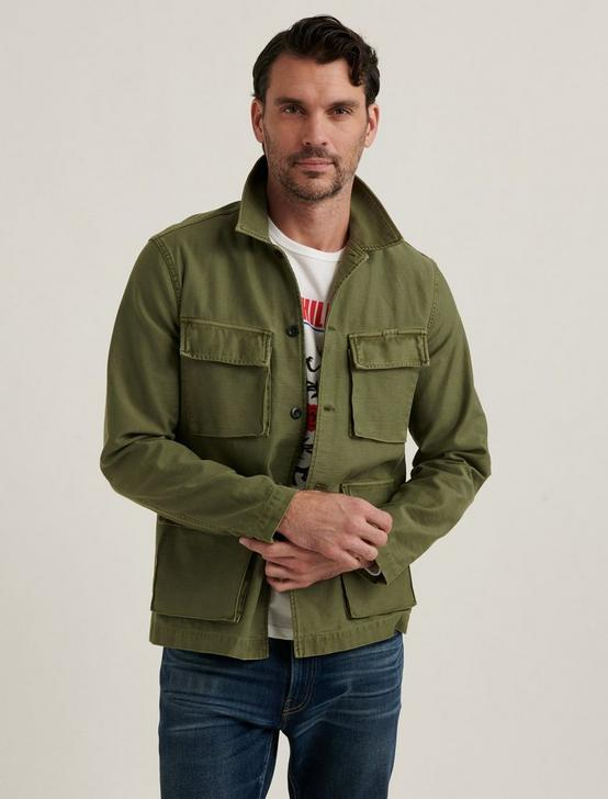 MILITARY SHIRT JACKET, LAUREL WREATH, productTileDesktop