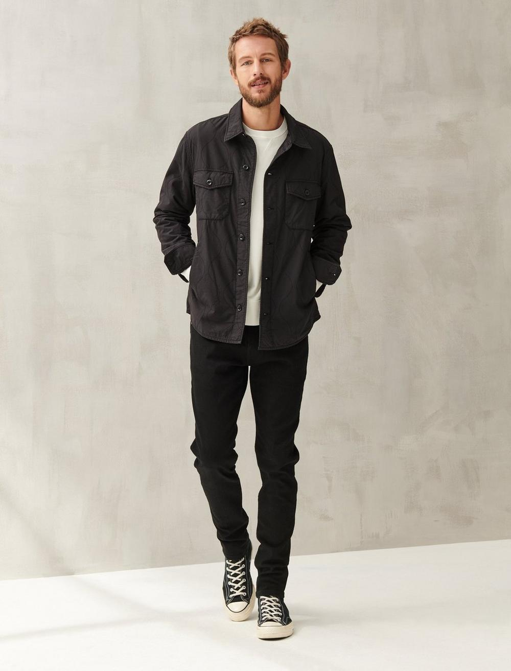 QUILTED SHIRT JACKET, image 2