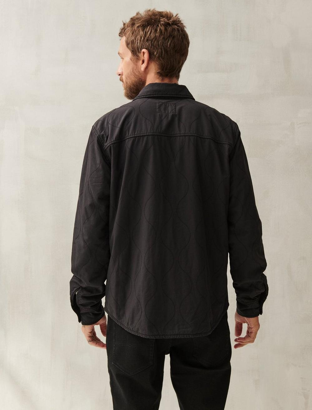 QUILTED SHIRT JACKET, image 4