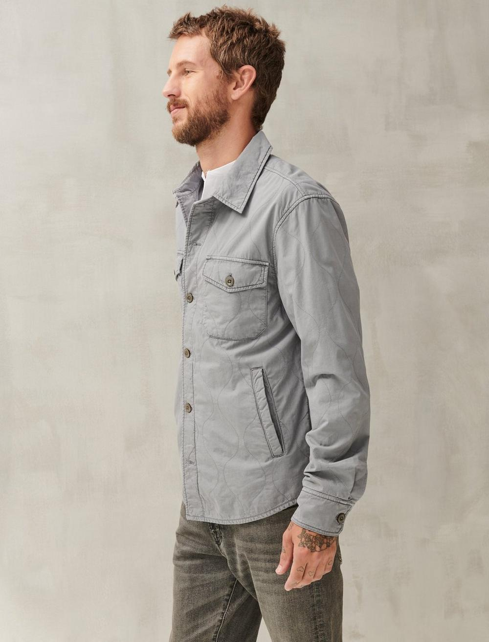 QUILTED SHIRT JACKET, image 3